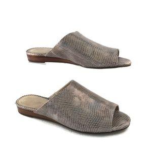 Aerosole Sandals Womens 10 M 41 EU Bronze Snake